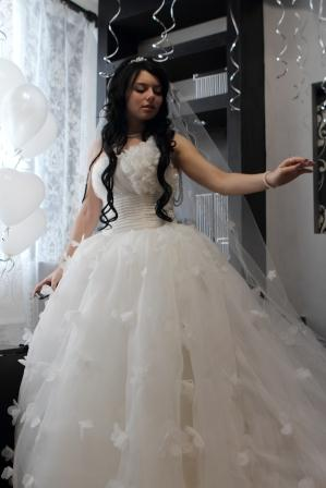 Продам: креативное свадебное платье - Купить: креативное свадебное