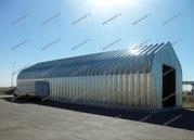 Ангар бескаркасный быстровозводимый разборный арочный со склада