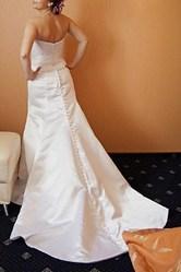 Американское свадебное платье,  со шлейфом