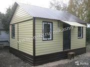 Дачный модульный домик 26кв. м. бытовка