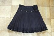 Продам юбку черную на девочку 7-10 лет