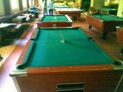 Бильярдный стол с жетонным механизмом